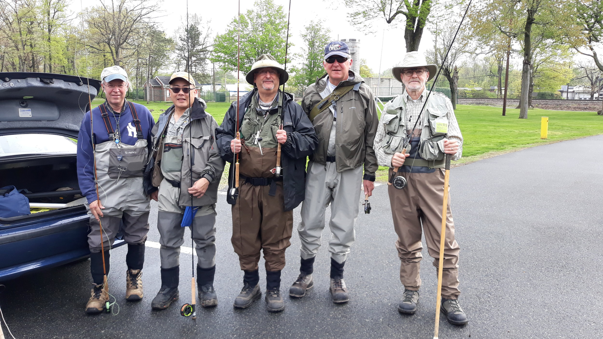 Rockaway River Trip, May 4, 2019 -