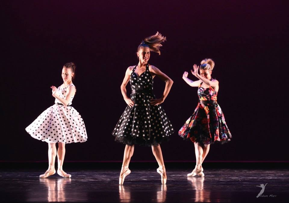 Mimi Ringness, Amber Willett, and Christa McKormick in Kevin Jenkins Swing Time