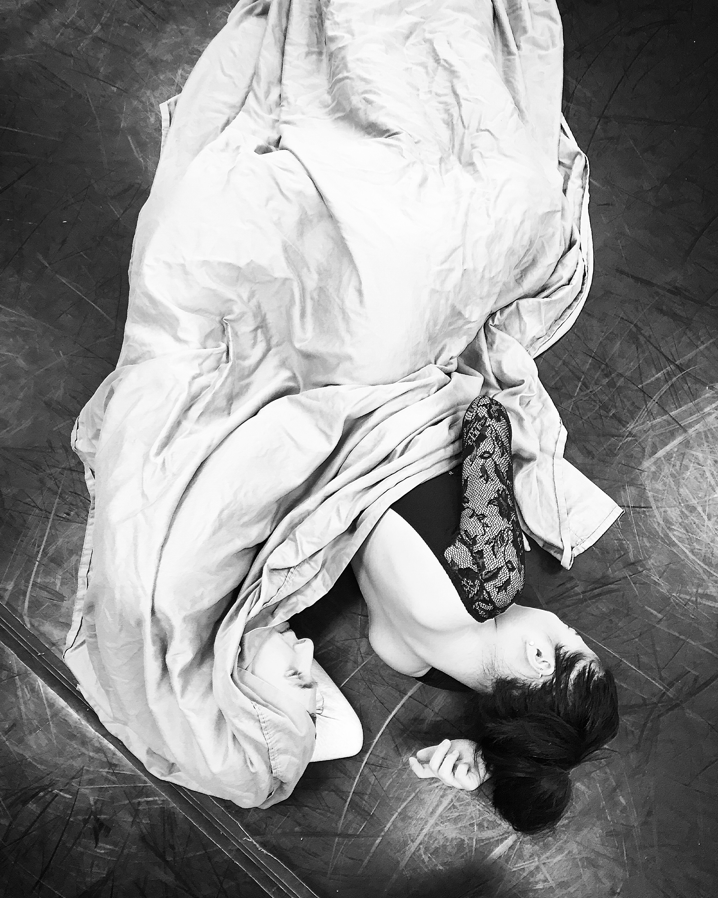 """""""Dreamers often lie,In bed asleep while they do dream things true."""" -Romeo and Juliet Act I, Scene 4 by William Shakespeare (Pictured, COB dancers Nathan Cook and Chessa Chalmers)"""