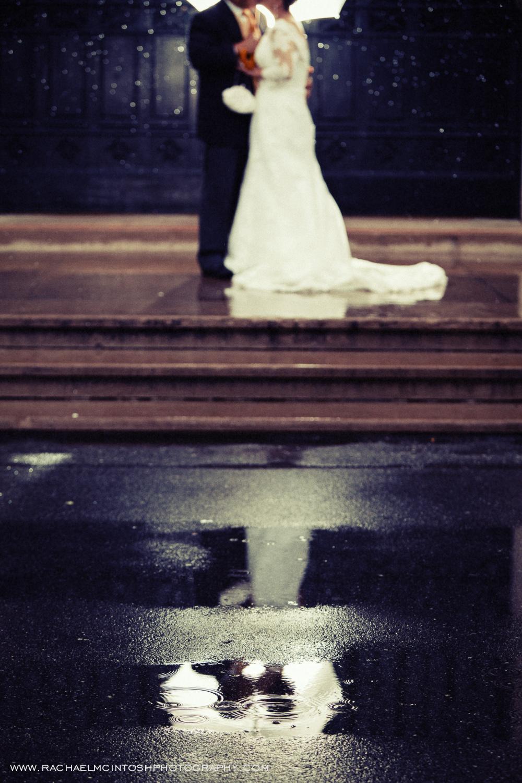 Asheville Wedding Photographer - rain