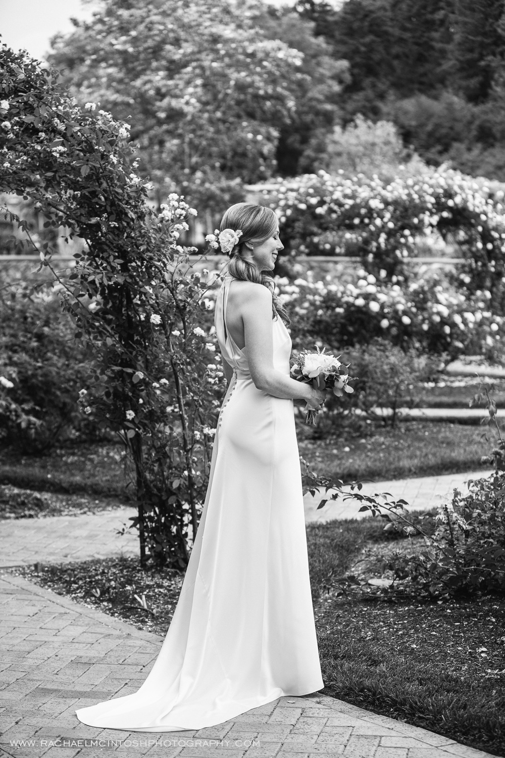 Biltmore Wedding Asheville NC - First Look in Rose Garden-4.jpg