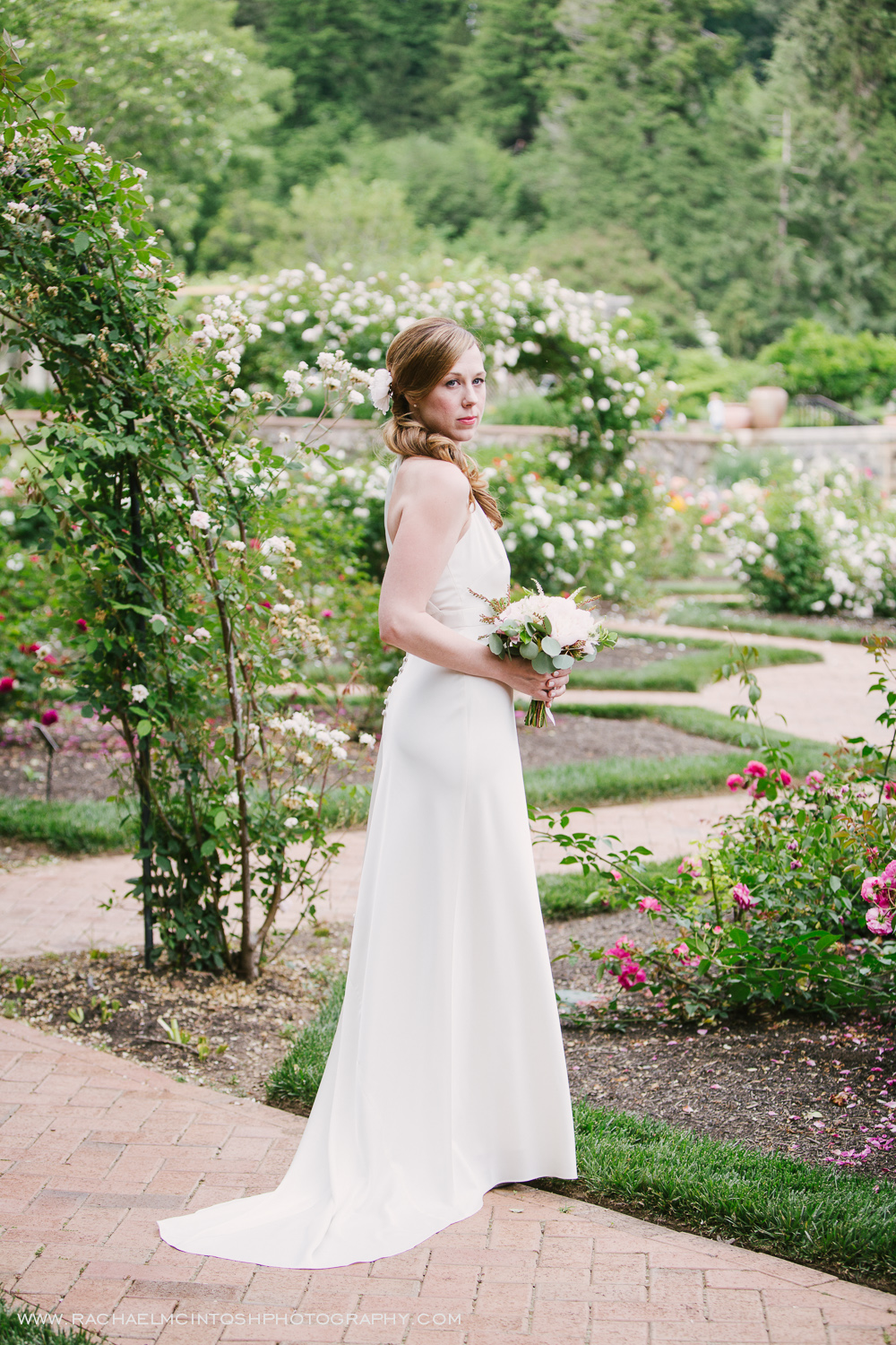 Biltmore Wedding Asheville NC - First Look in Rose Garden-7.jpg