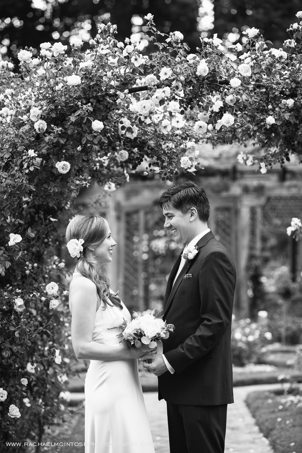 Biltmore Wedding Asheville NC - First Look in Rose Garden-17.jpg