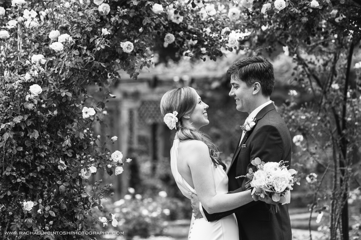 Biltmore Wedding Asheville NC - First Look in Rose Garden-19.jpg