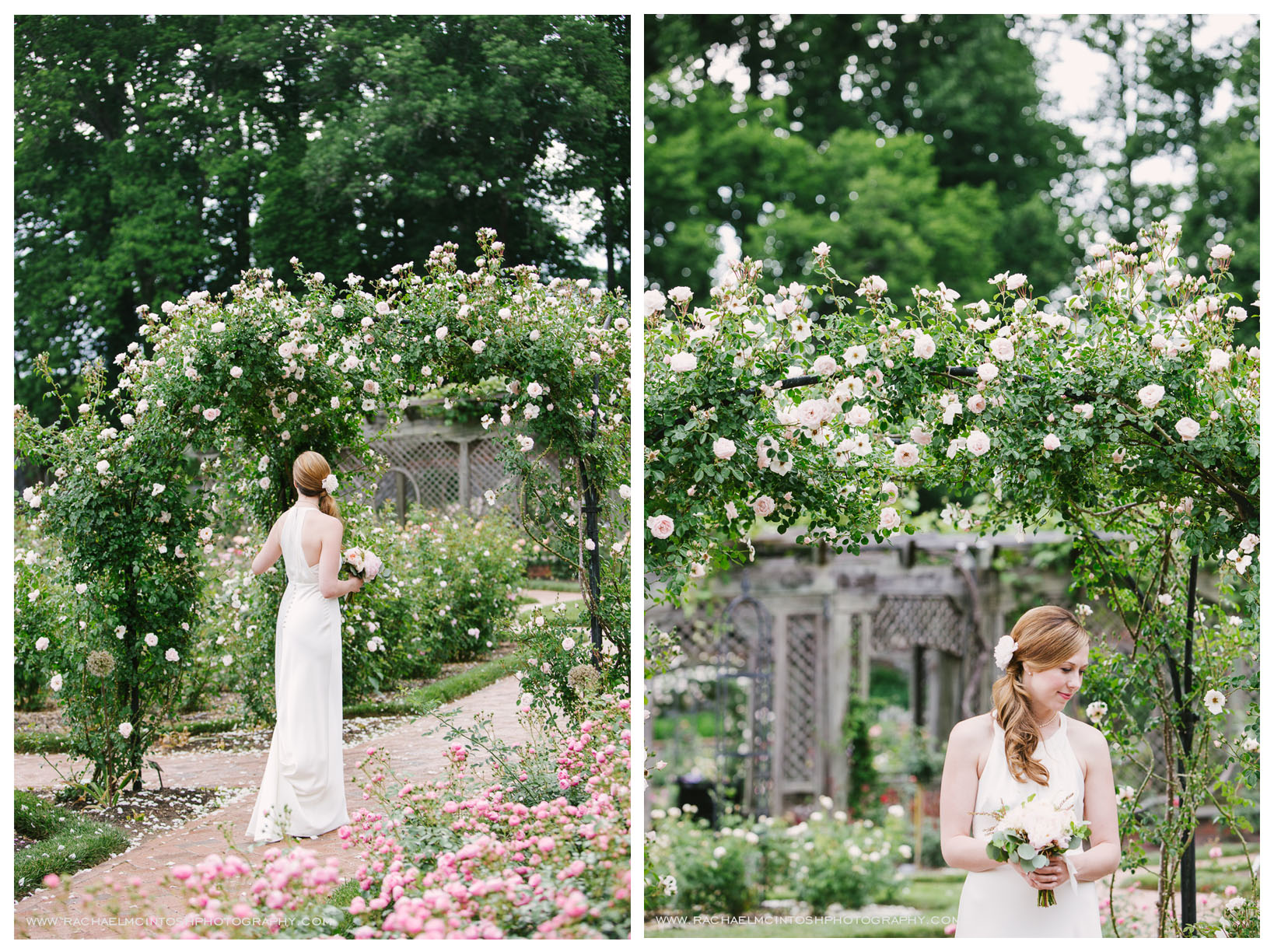 Biltmore Wedding Asheville NC - First Look in Rose Garden-33.jpg