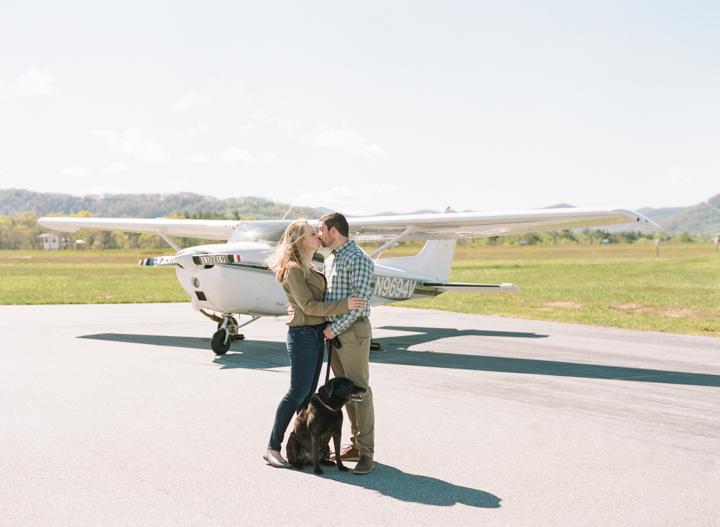 Engagement Photos at Asheville Airport-26.jpg