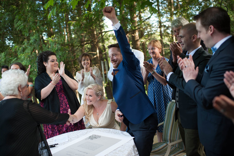 Ontario Jewish Wedding Ceremony