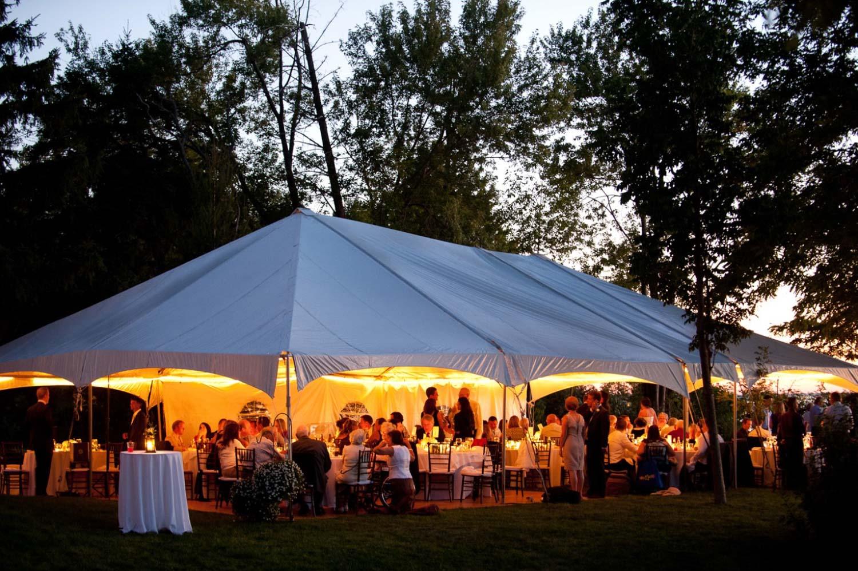 Ontario Lakefront Wedding Reception