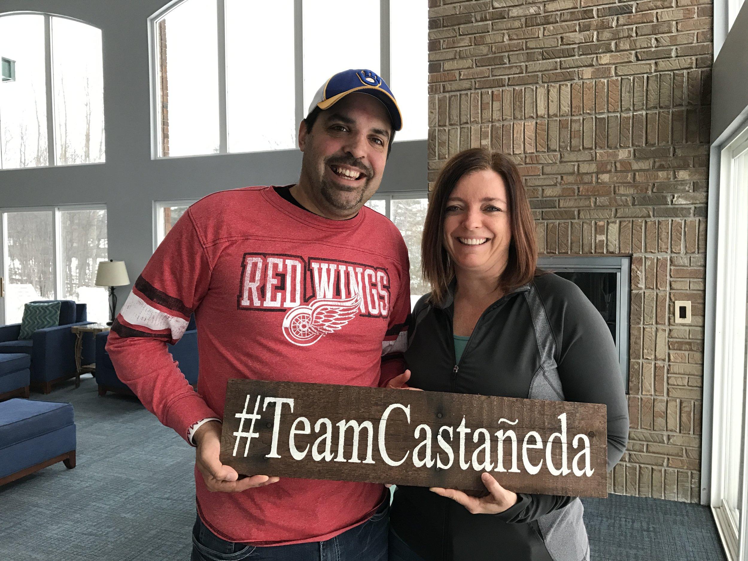 #TeamCastañeda gets stronger when we spend more quality time together!