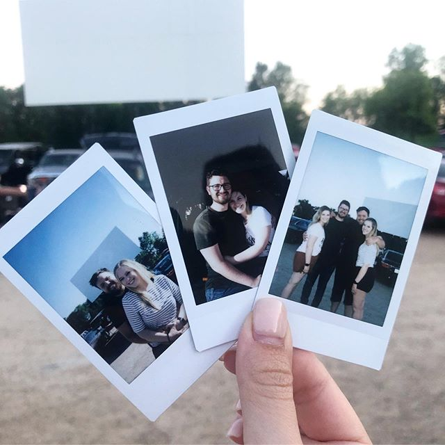 Drive in movie nights with these friends. We love summer and the Briggs. 💕