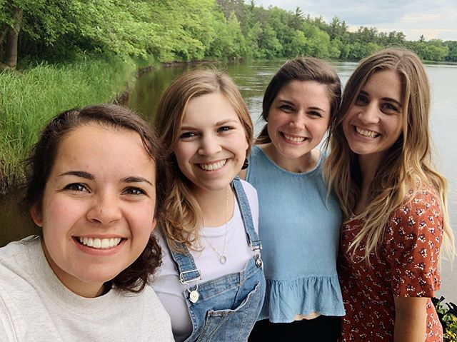 Grateful for a weekend away on the river with my best friends. ☺️