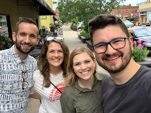 So grateful to spend time with our friends Matt and Andrea this weekend!  Crazy that just two months ago we were with them in Mozambique, saying goodbye and not knowing when/if we'd see each other again... and now we got to have brunch in Minneapolis! So fun dreaming and hearing their plans for Maputo and connecting them with @emmanuelccmn missions. Can't wait to see them again (hopefully in Africa 😉).