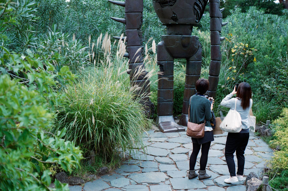 "Mitaka (Ghibli Museum), Tokyo - We were not allowed to take photographs inside so I took as many as I could of the outside. This is a robot (about true-to-life size) featured in the film ""Castle in the Sky"" (Laputa)."