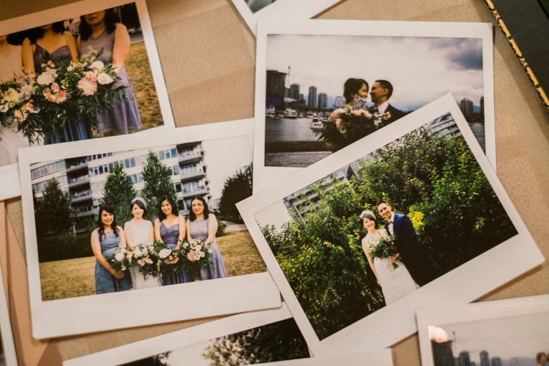 I brought in some Fuji Instax instant film goodness for the couple. :)
