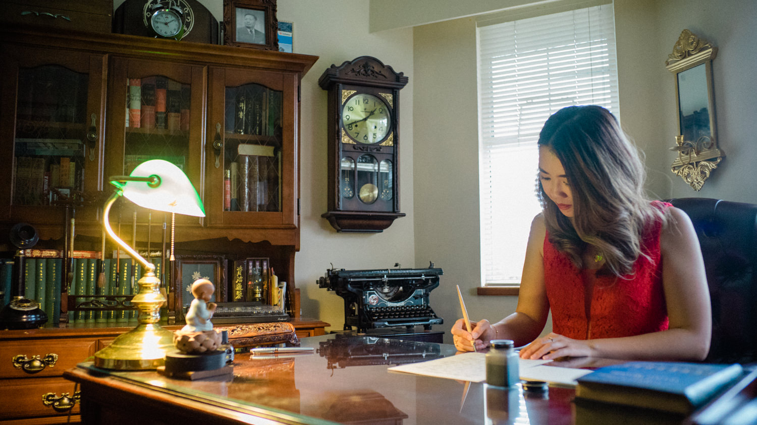 Our story begins with Kat writing a letter…