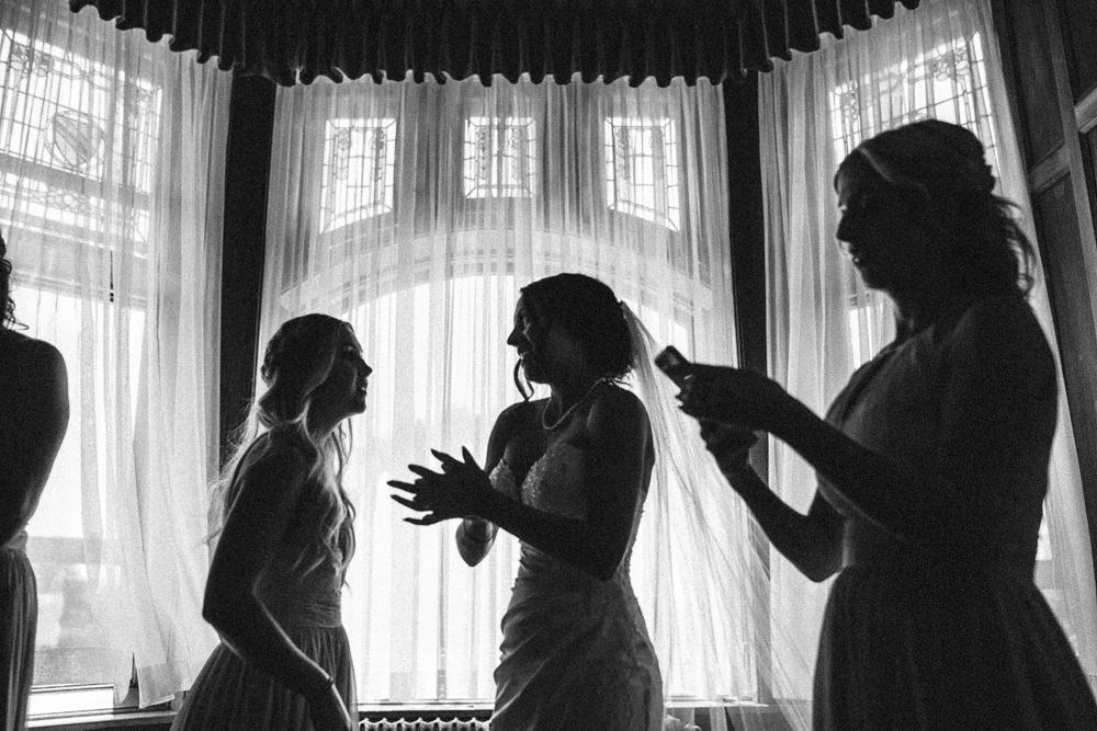 hatley castle wedding bride