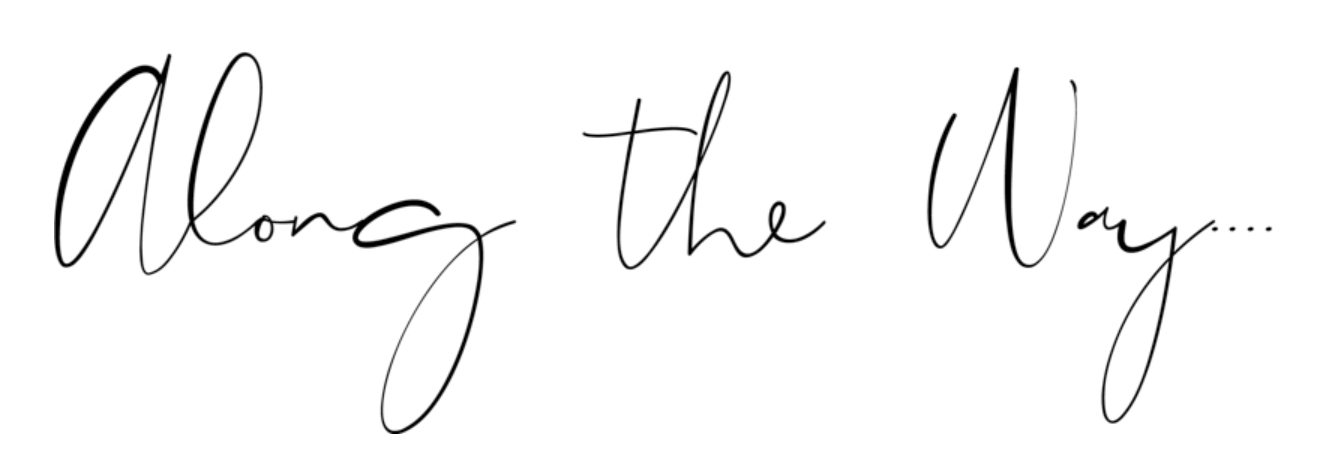 ALONG THE WAY - MY PERSONAL BLOG.