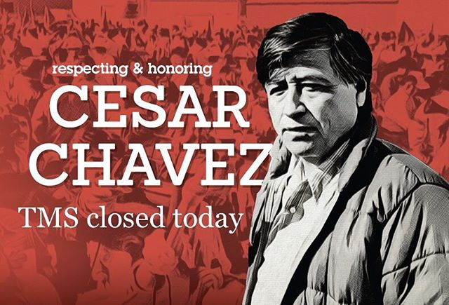 """""""Students must have initiative; they should not be mere imitators. They must learn to think and act for themselves - and be free."""" - Cesar Chavez⠀ ⠀ Honoring the work of civil rights activist Cesar Chavez today, see you all Tuesday. image source: CSU Chico State⠀ .⠀ .⠀ .⠀ #cesarchavez #tms #topangacanyon #outdooreducation #breakthemold #alted #alternativeeducation #laschool #middleschool #woodlandhills"""