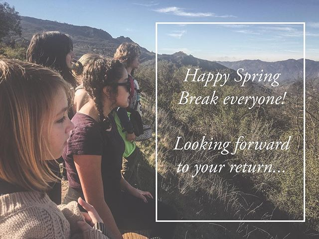 Respect rest and relaxation this break. You've all earned it! Take advantage of this time to recharge for our next trimester when we kickstart the drama program!⠀ .⠀ .⠀ .⠀ #tms #topangacanyon #outdooreducation #breakthemold #alted #alternativeeducation #laschool #middleschool #education #edu #woodlandhills