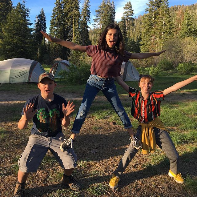 Grateful to witness another generation of TMS students playing amongst 2000 year old sequoias, sleeping under the stars, and sharing in all the laughter and beauty Quaking Aspen brings. . . . #alternativeeducation #knowledgenaturally #woodlandhills #alted #tms #topanga #quakingaspen