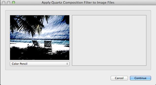 Step 2: Apply a Quartz Composition Filter