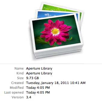 9.7GB library, no previews