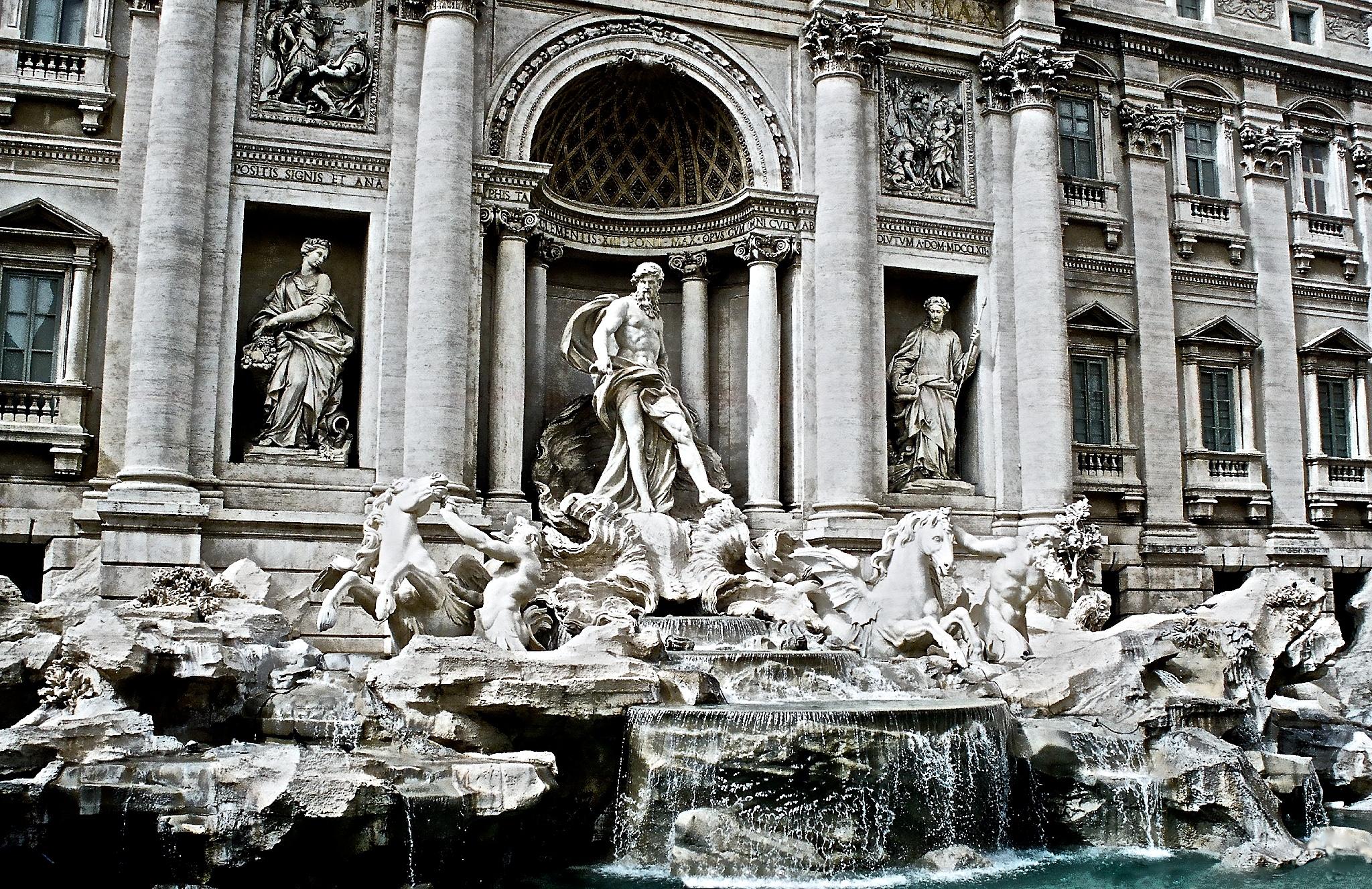 Trevi Fountain, Rome  |  Europe Gallery