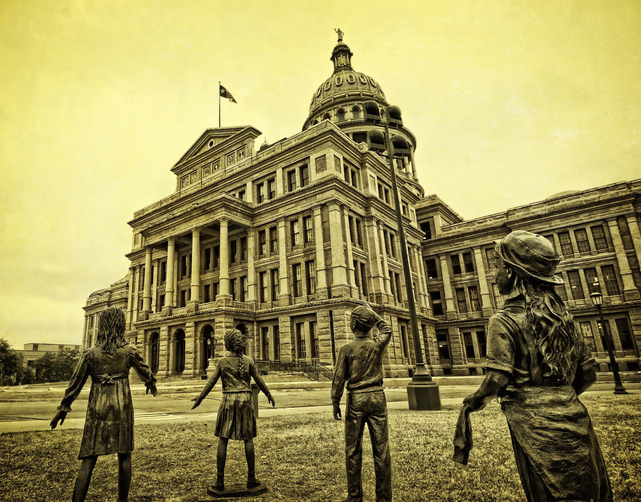 Statues | Texas State Capital Building, Austin, Texas