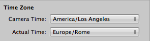 Time Zone Import Pane