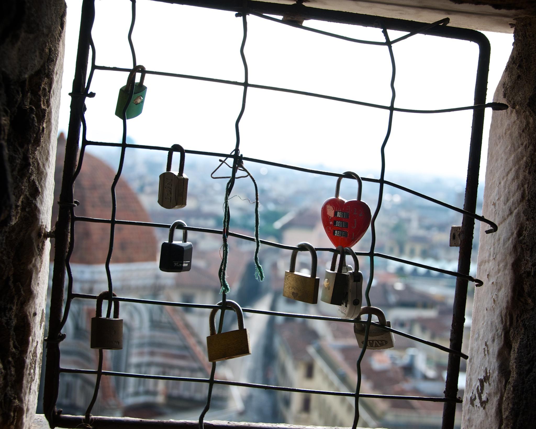 Love Locks, Florence, Italy
