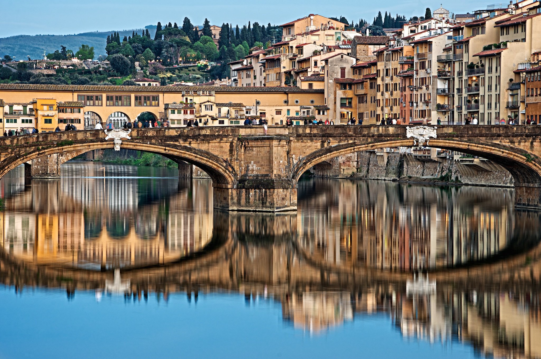 Europe Gallery  / Arches Across the Fiume /  Buy a Print