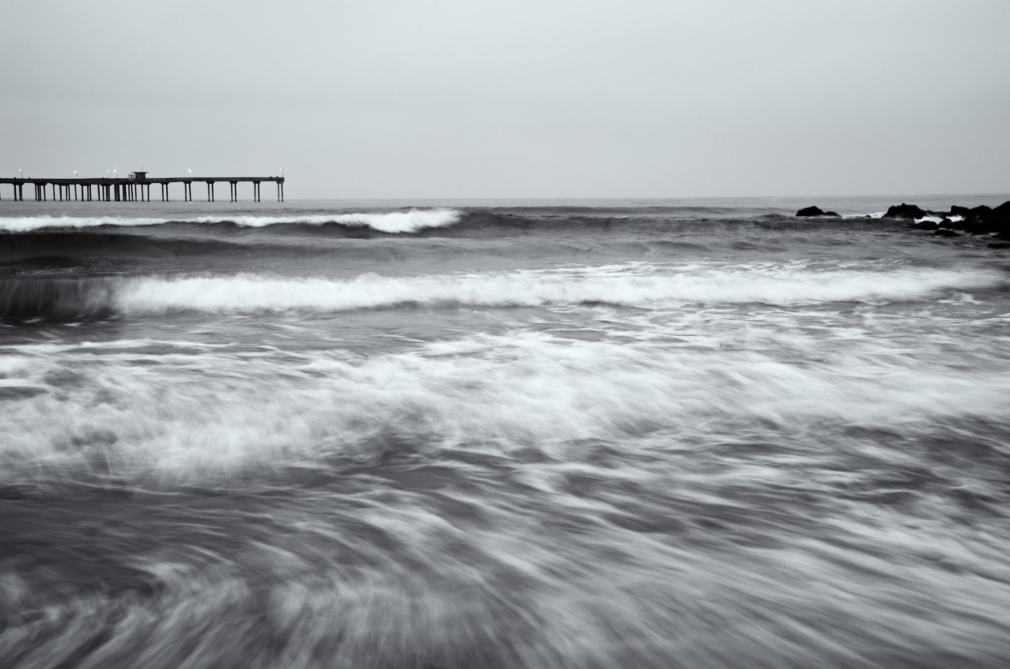 Want a good seascape? Get wet.