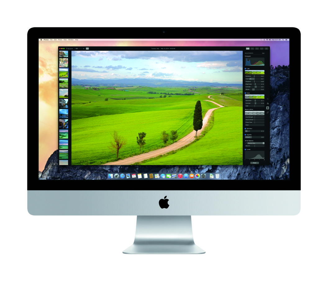 Photos on OS X Yosemite