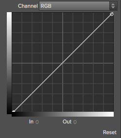 Tone Curve in the Tone Enhancer Filter
