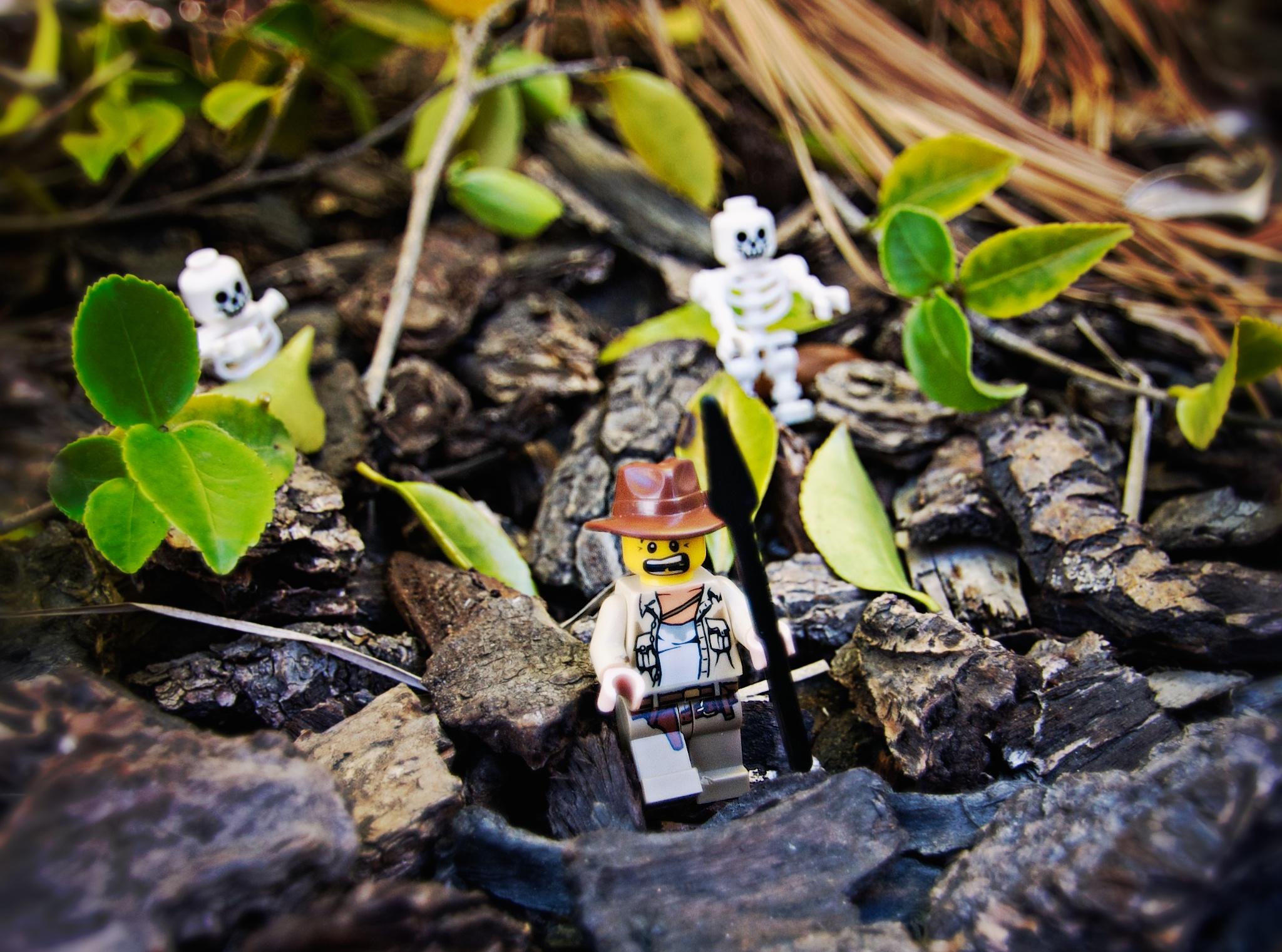 Lego Man / Running From Skeletons
