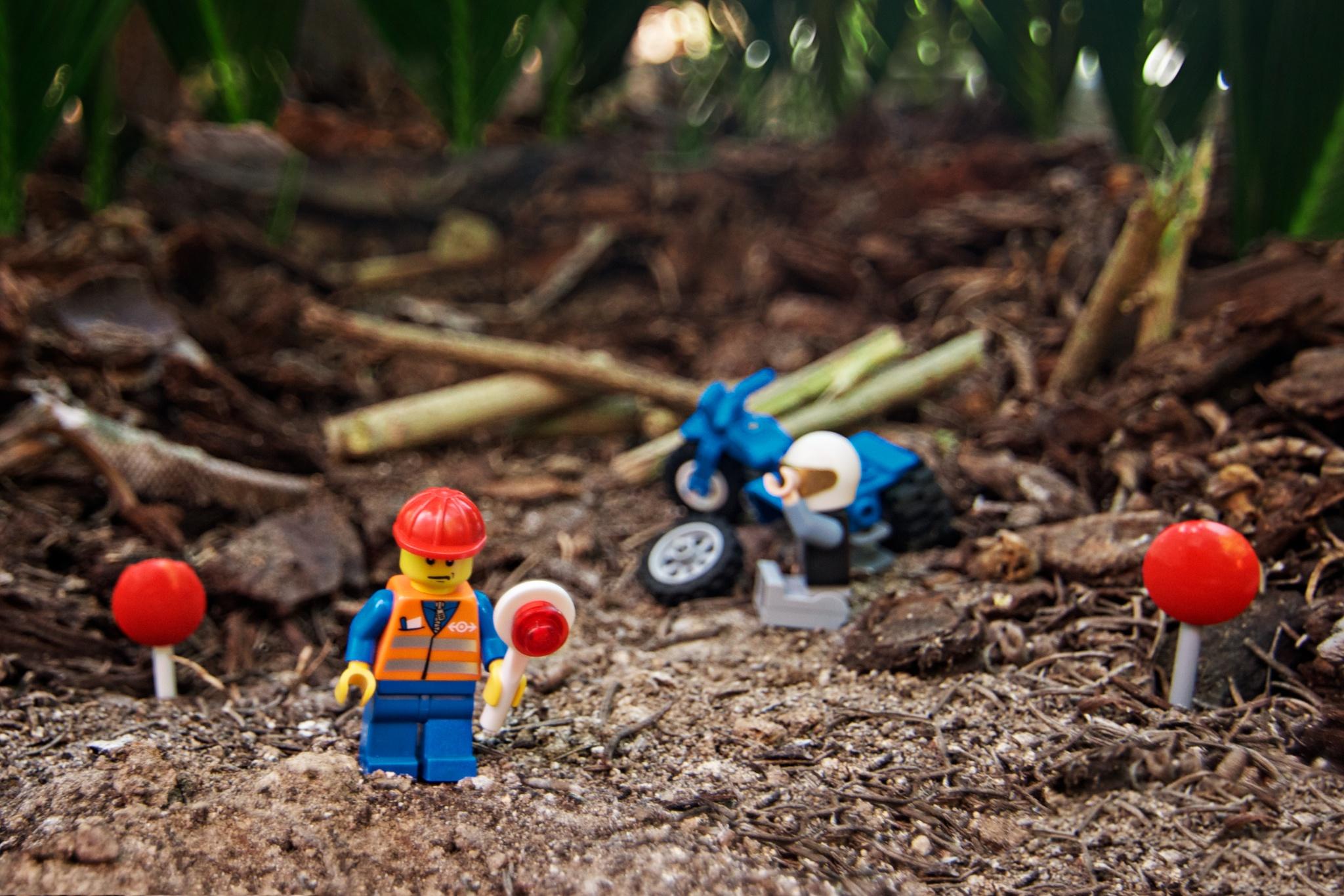 Lego Man / Roadside Assistance