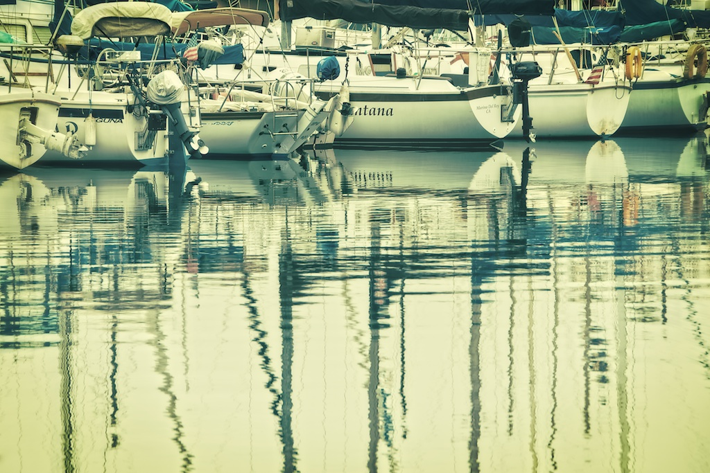 Boats In Mission Bay A