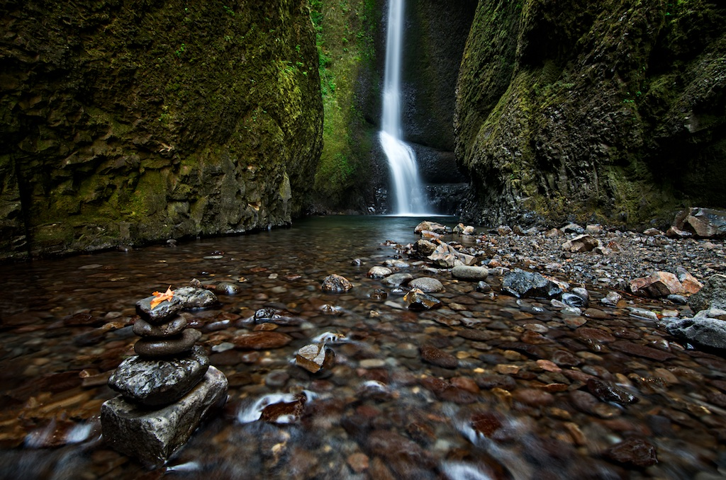 Autumn in Oneonta Gorge