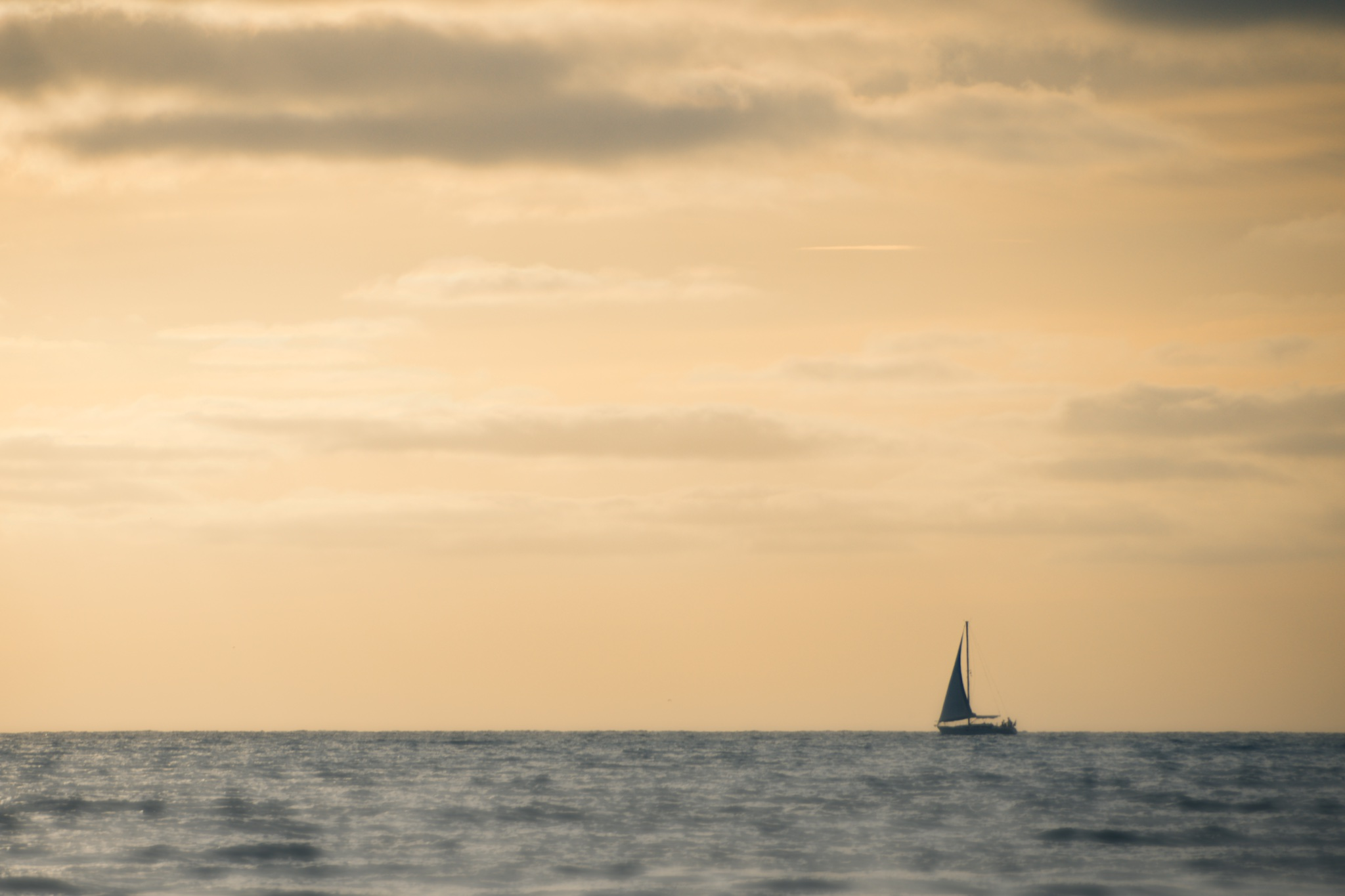 Sailing Into The Sunset