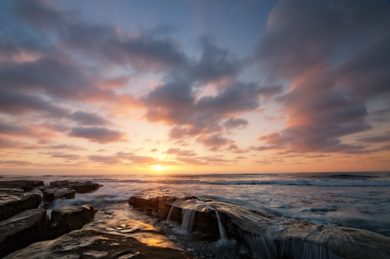 Twilight At High Tide