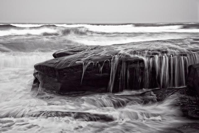 Nature Sculpts The Shore