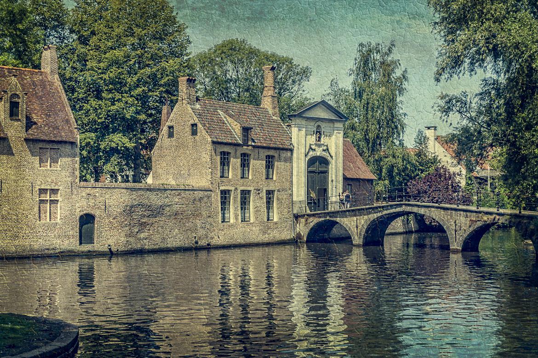 A Bridge in Brugge, Belgium