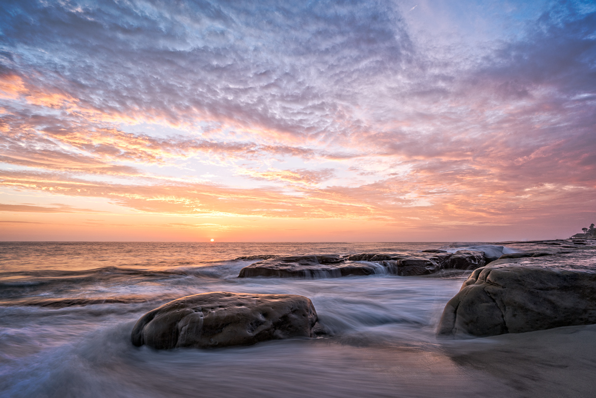 Sunset, La Jolla, California