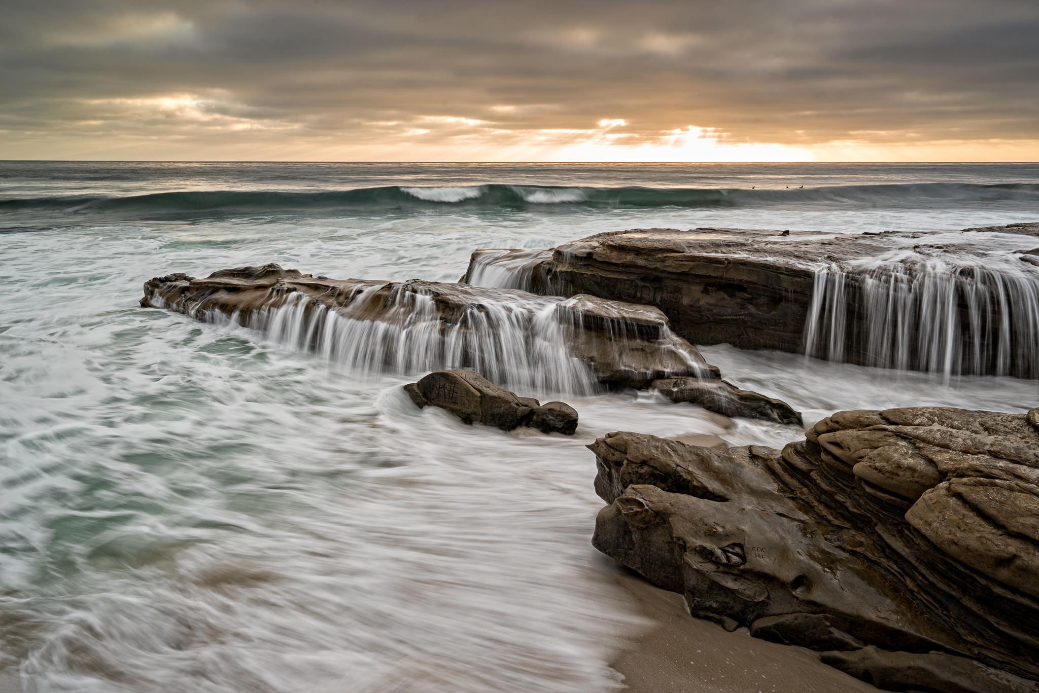 Windansea Waterfalls