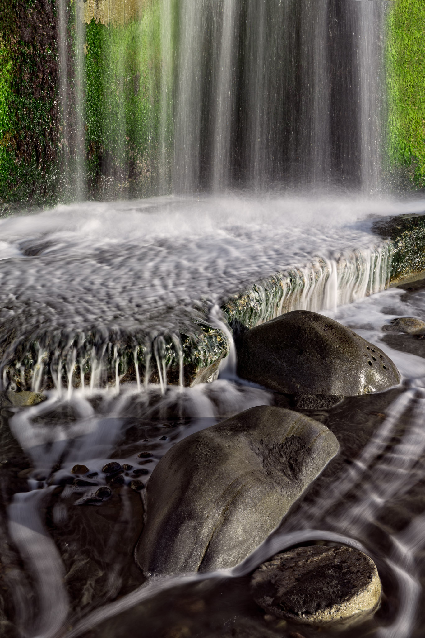 Downspout Waterfall