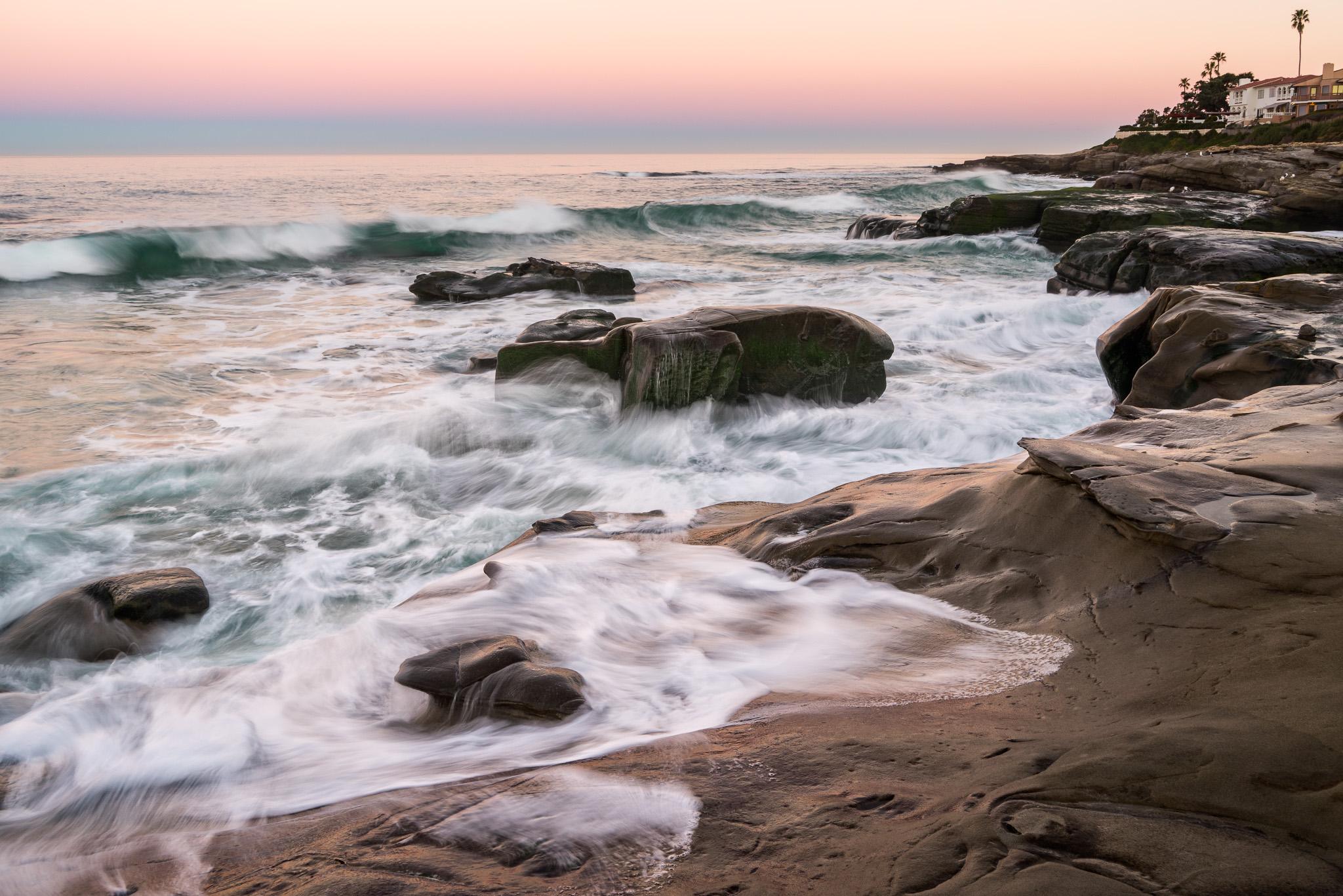 Ocean Brush Strokes