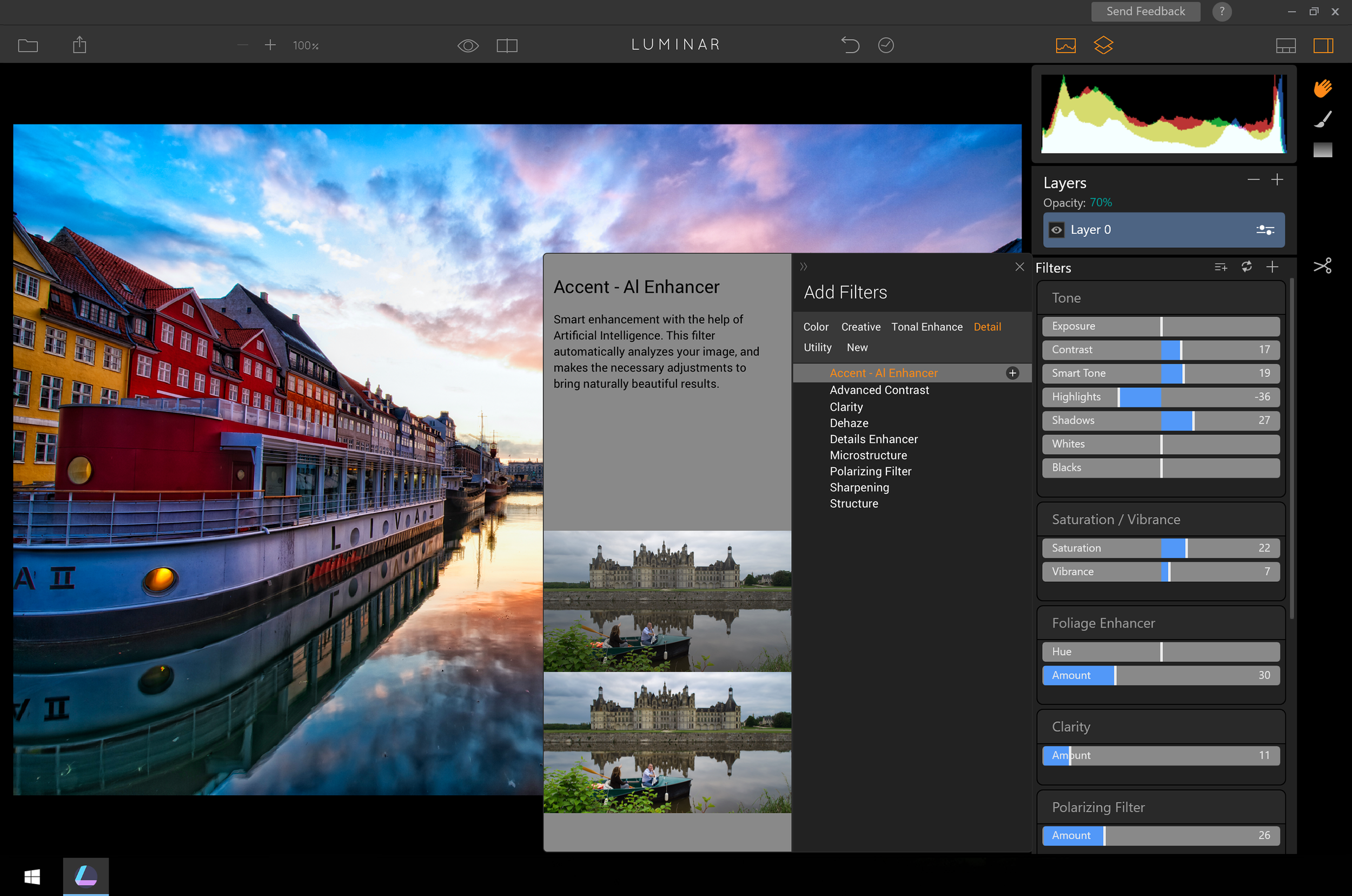 40+ Filters to style your photos