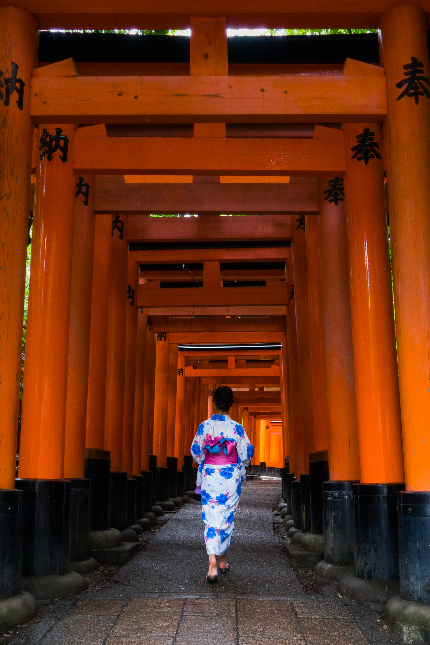 Girl In Kyoto