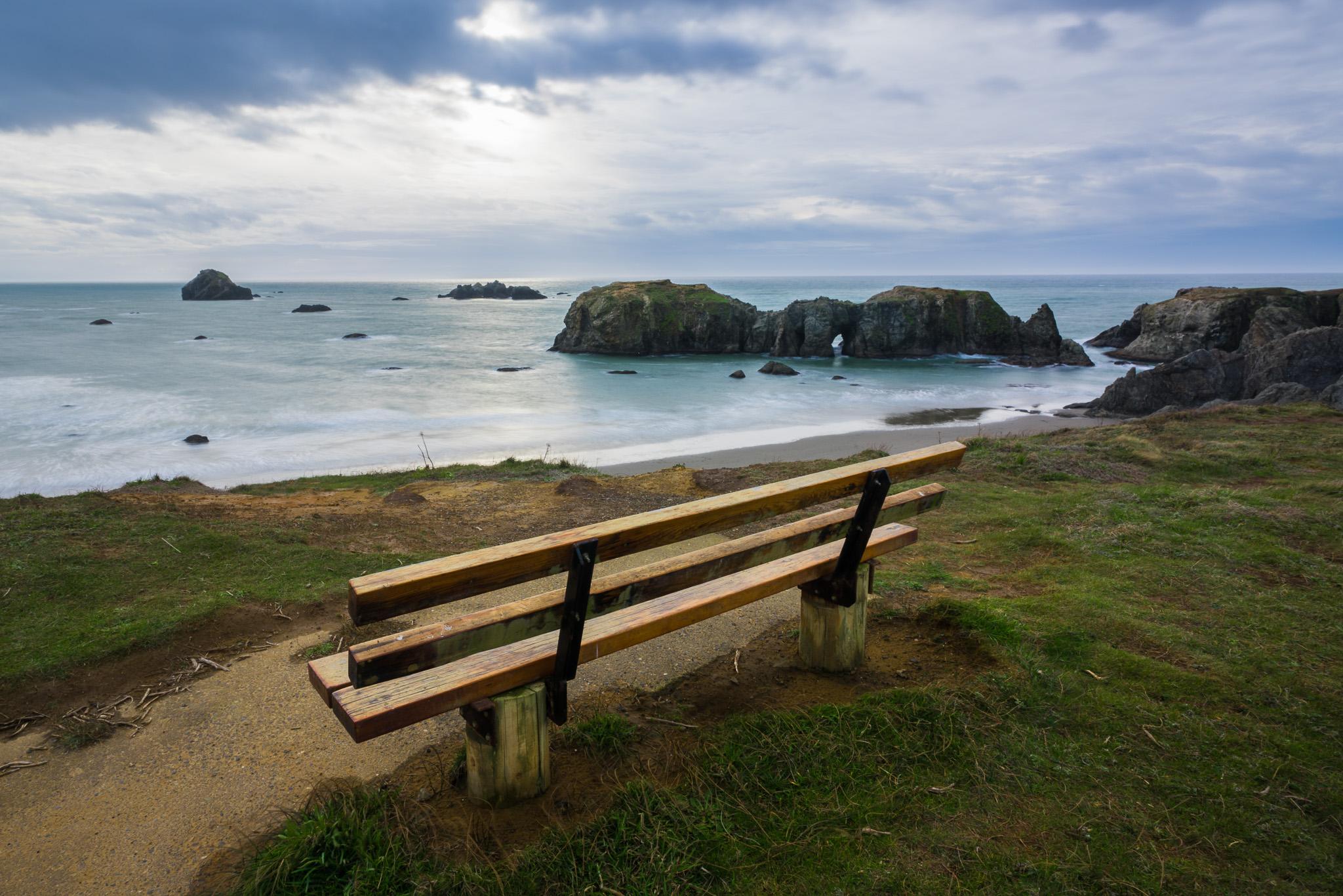 Bench, Coquelle Point