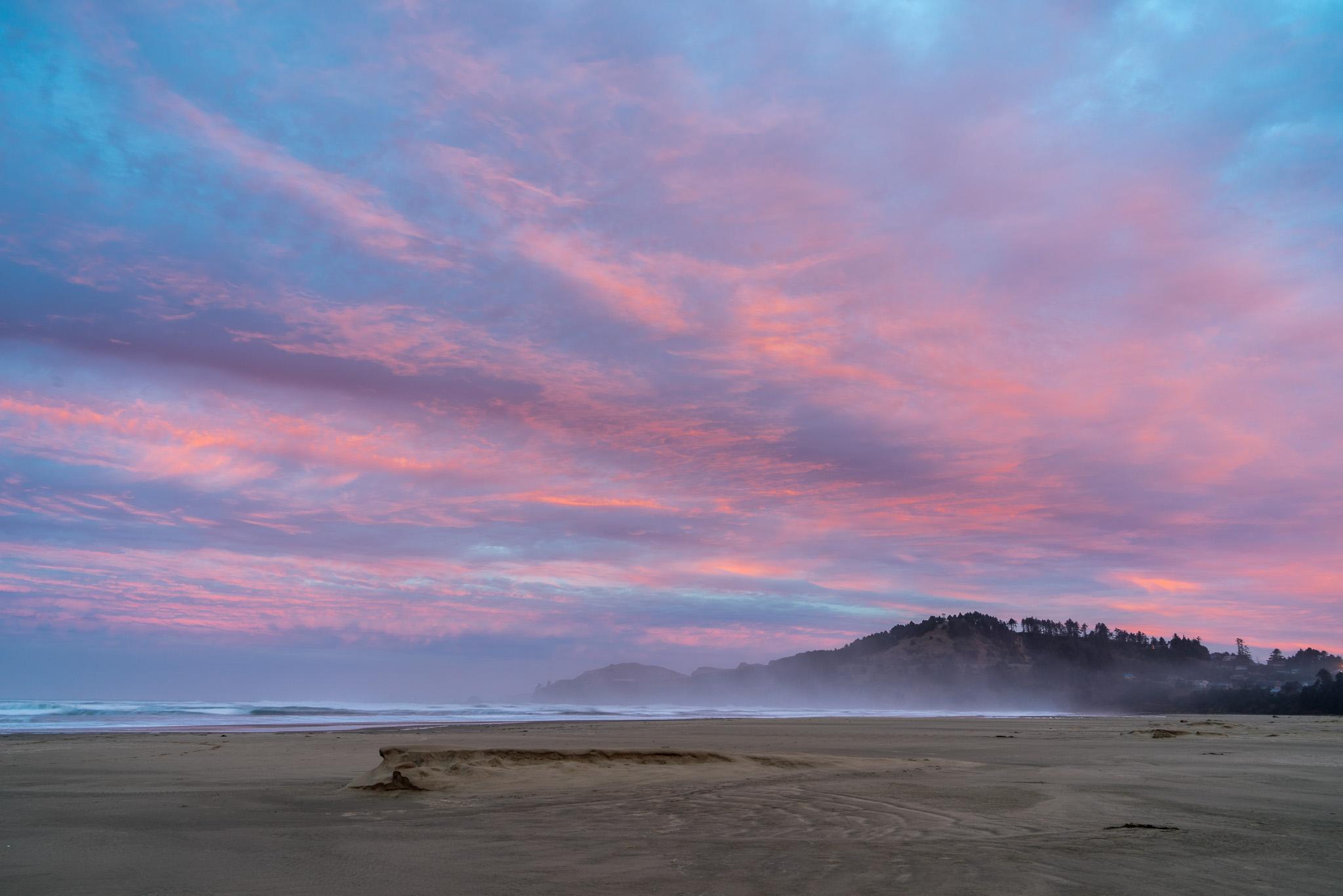 Sunrise At Yaquina Head